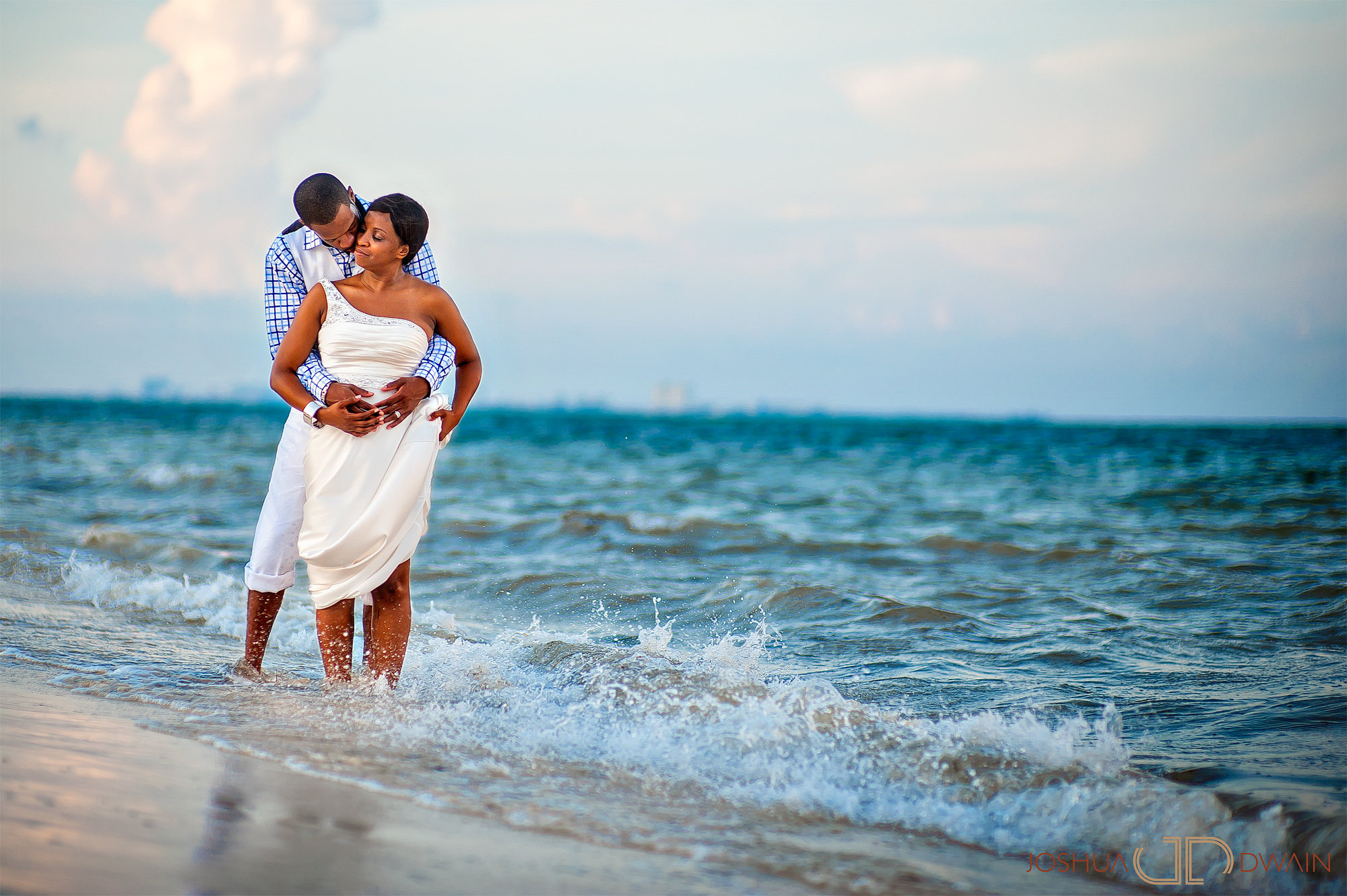 Janet Adrian Moon Palace Wedding Photographers African American Destination