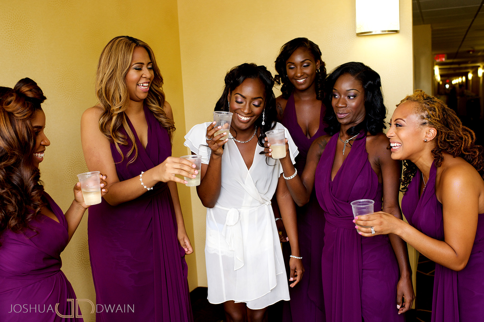 Aisha & Darnell's wedding at Chateau Briand