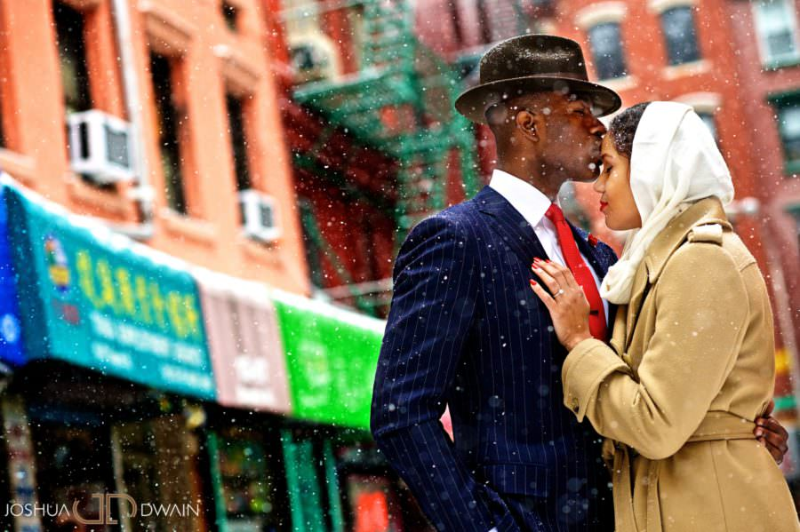African American Engagement Photos NYC