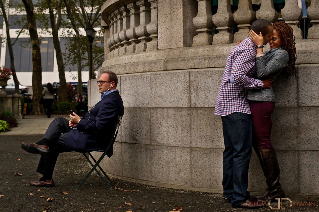 Orly & Darnell's New York City Engagement Session