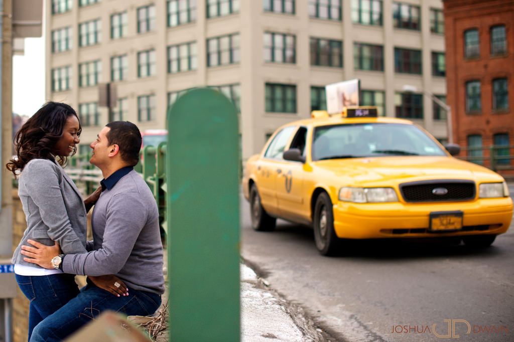 Anna & Edwin's Engagement Session in Dumbo, Brooklyn, NY