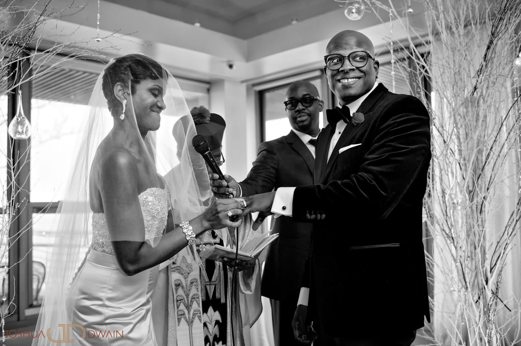 Stacey & Aaron's New York City Wedding at Battery Garden's Restaurant