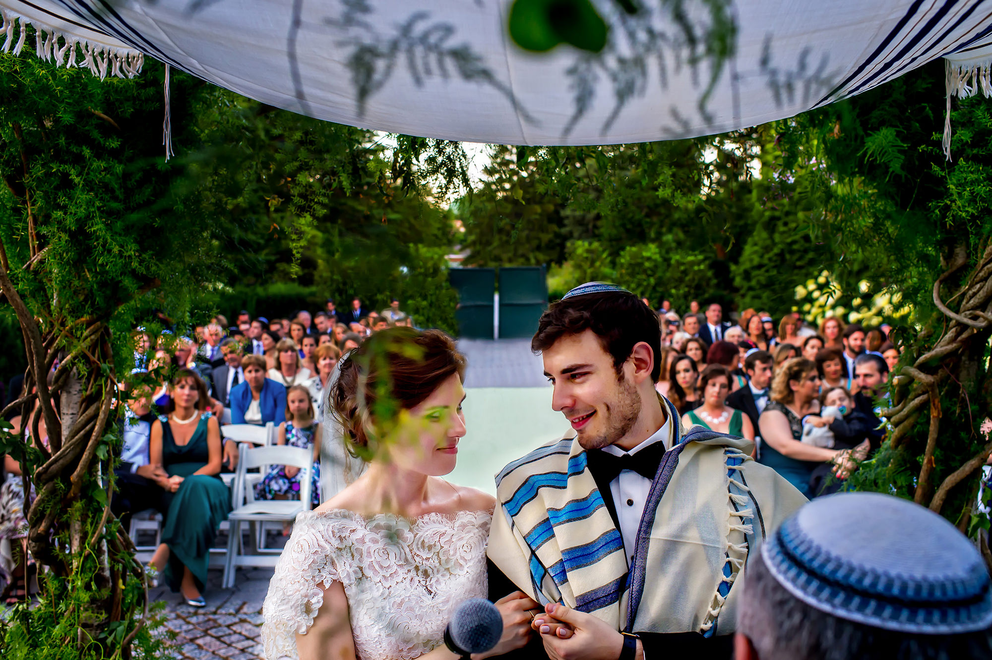 Rachel & Andres' wedding at the New York Botanical Gardens in Bronx, NY