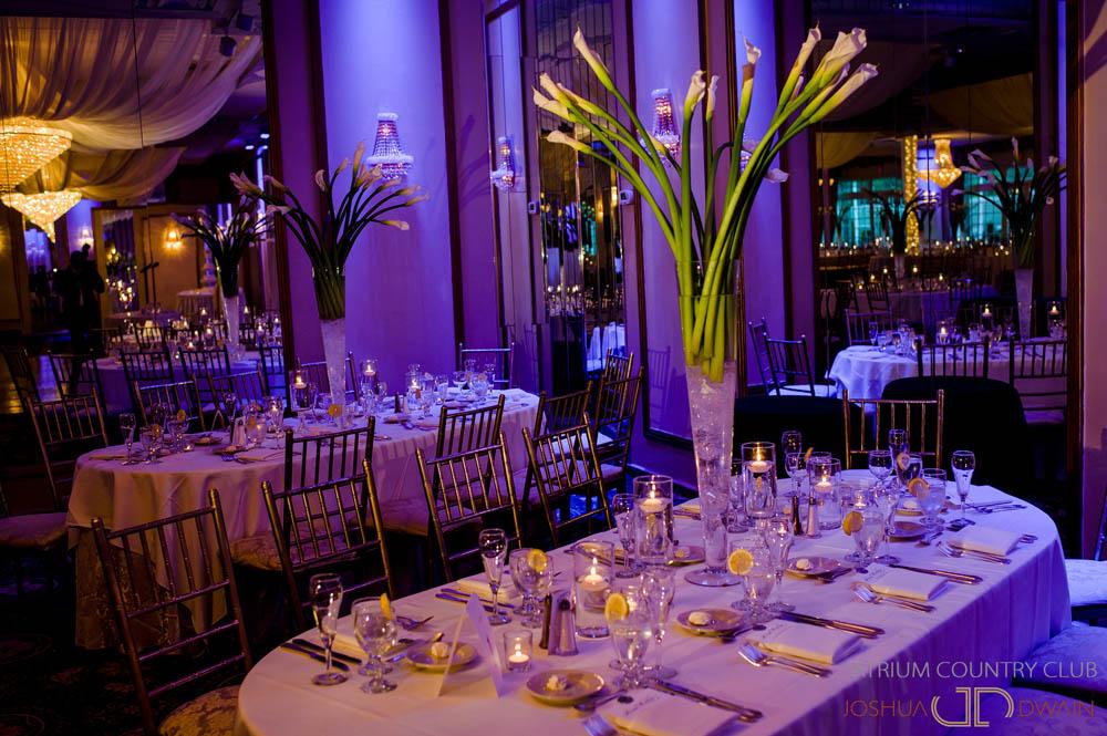 atrium country club wedding photos