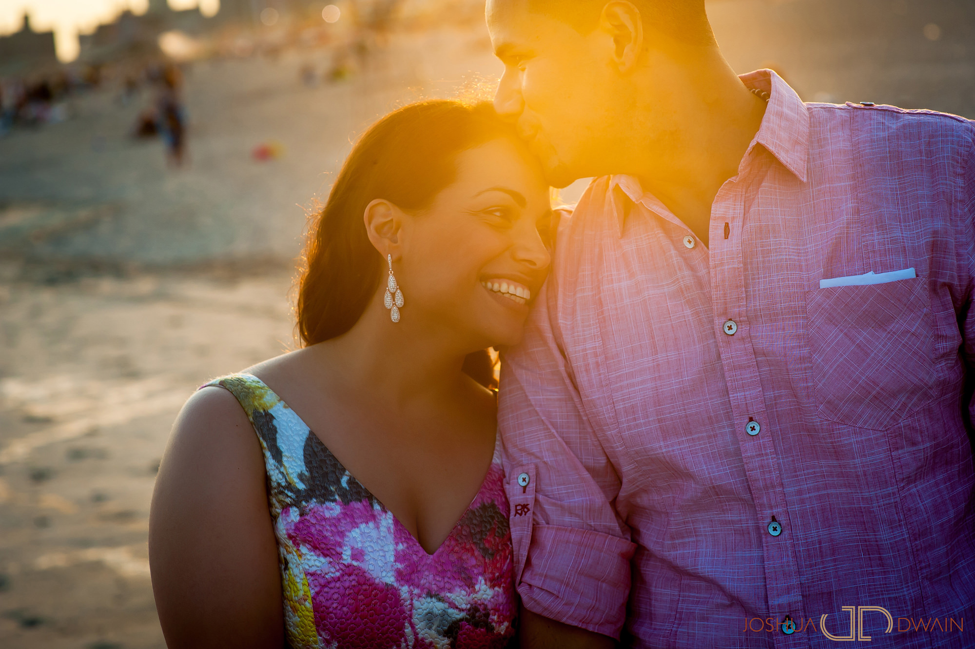 Nicole & Mauricio's Engagement Photos from Coney Island in Brooklyn, NY