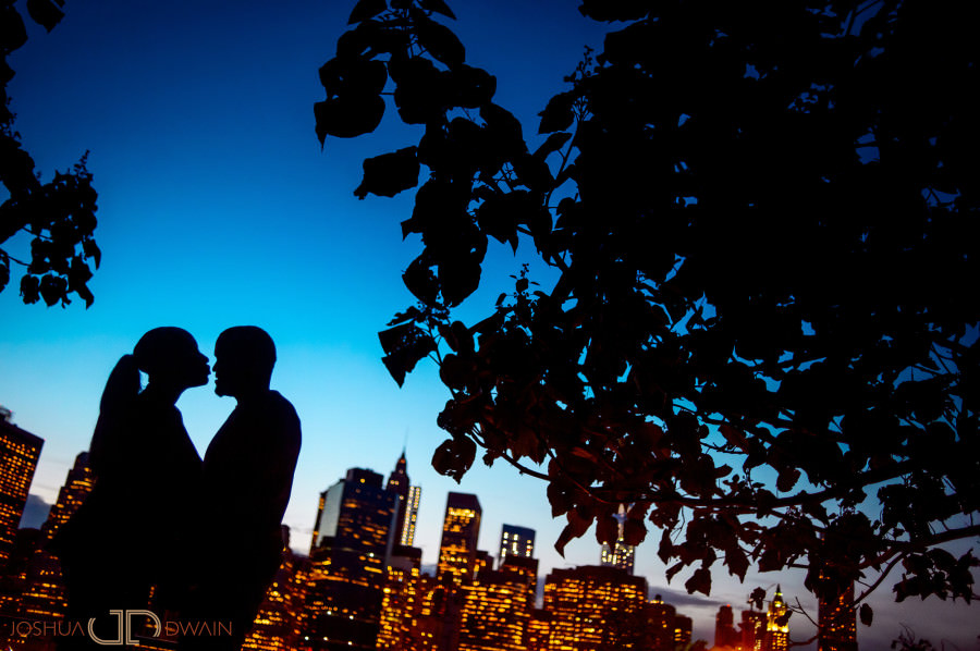 Colleen & Shannon's Engagement Session in Brooklyn Bridge Park, NY
