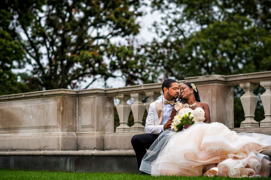 African American Oheka Castle Wedding