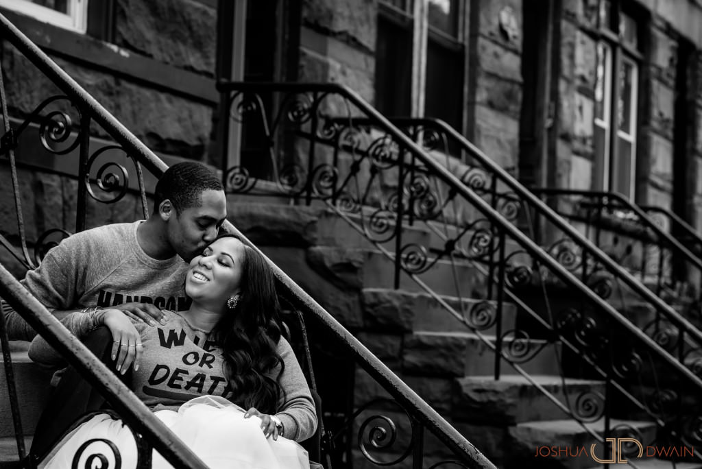 Alena & Princes' engagement session in NYC (Brooklyn & Manhattan)