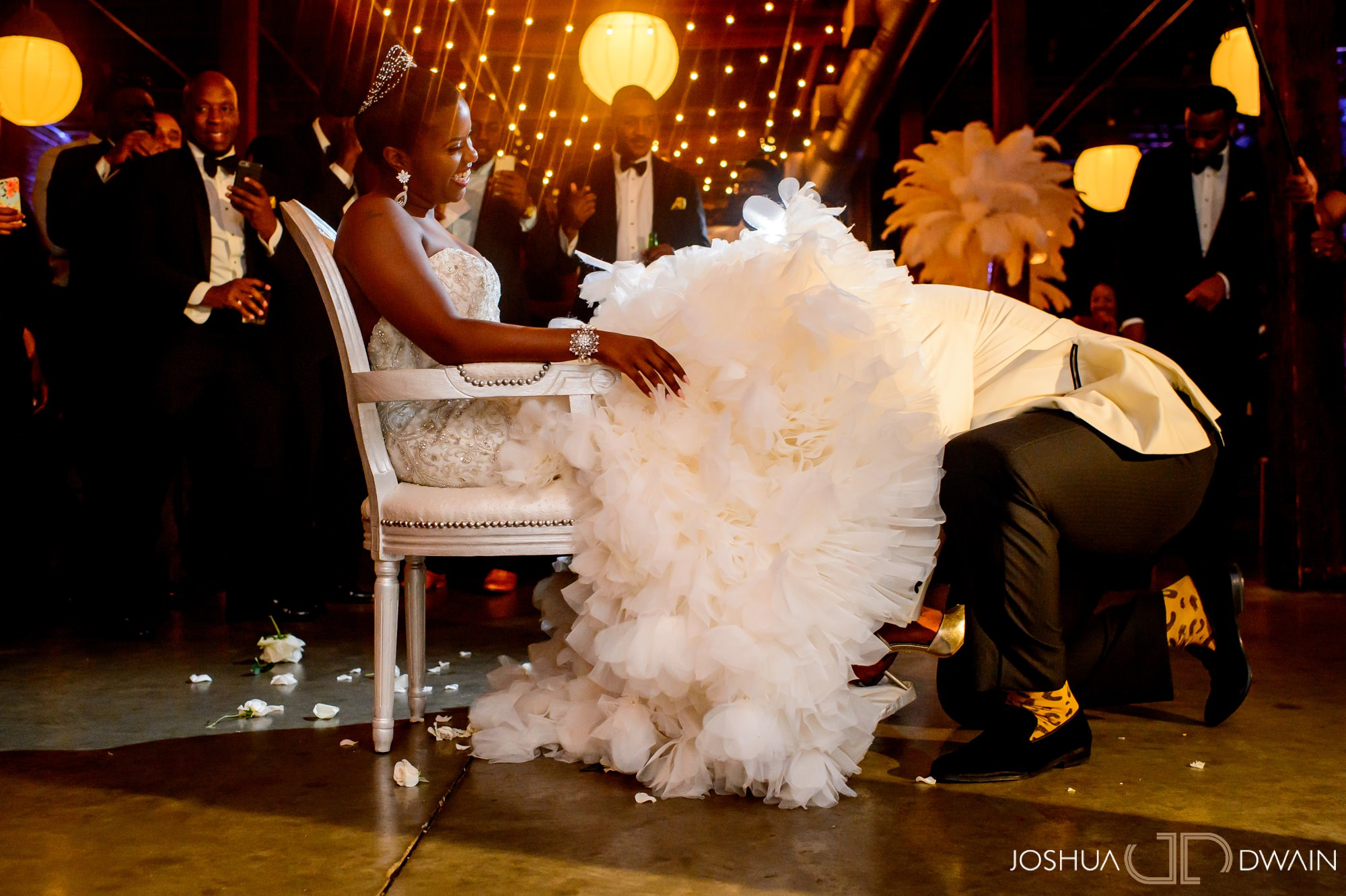 Kiara & Dequaris' Wedding at B&A Warehouse in Birmingham, Alabama