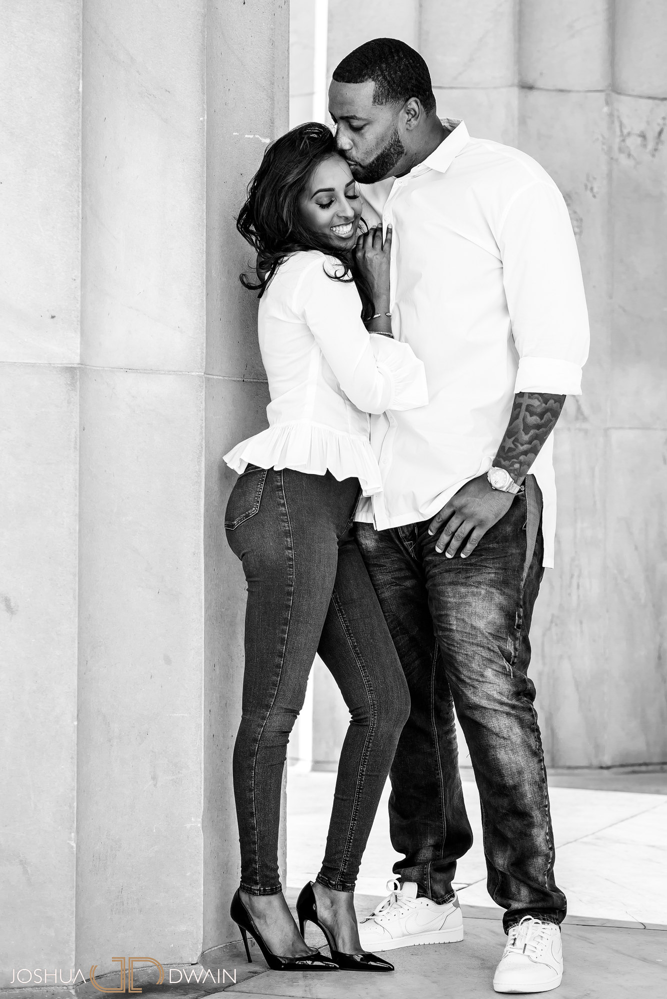 Askale & Dre's DC Engagement Photos