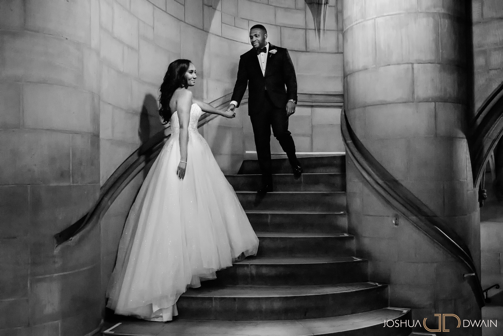 Ebony & Vernon's wedding at the Riverside Church